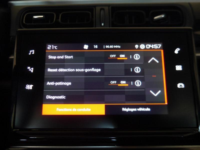 Photo 12 de l'offre de CITROEN C3 1.5 BLUEHDI 100CH S&S FEEL à 15480€ chez Automobiles 25