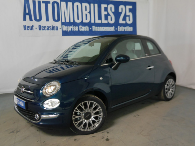 Fiat 500C 1.0 70CH BSG S&S STAR - 24 % Hybride EPIC BLUE Neuf à vendre