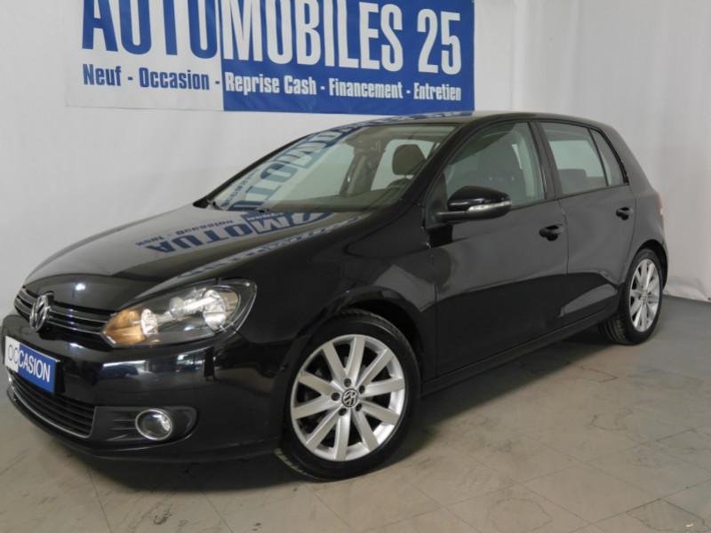 Volkswagen GOLF VI 1.6 TDI 105CH BLUEMOTION FAP CARAT 5P Diesel NOIR Occasion à vendre