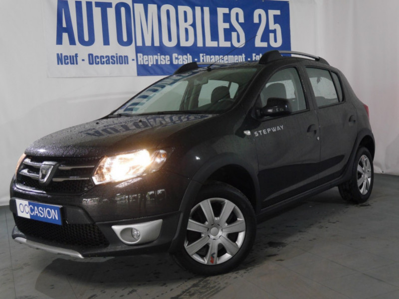 Dacia SANDERO 0.9 TCE 90CH STEPWAY PRESTIGE Essence NOIR Occasion à vendre