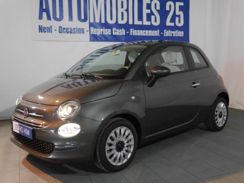 Fiat 500 1.2 8V 69CH S&S LOUNGE  DUALOGIC - 27 % Essence GROOVE METAL GREY Neuf à vendre