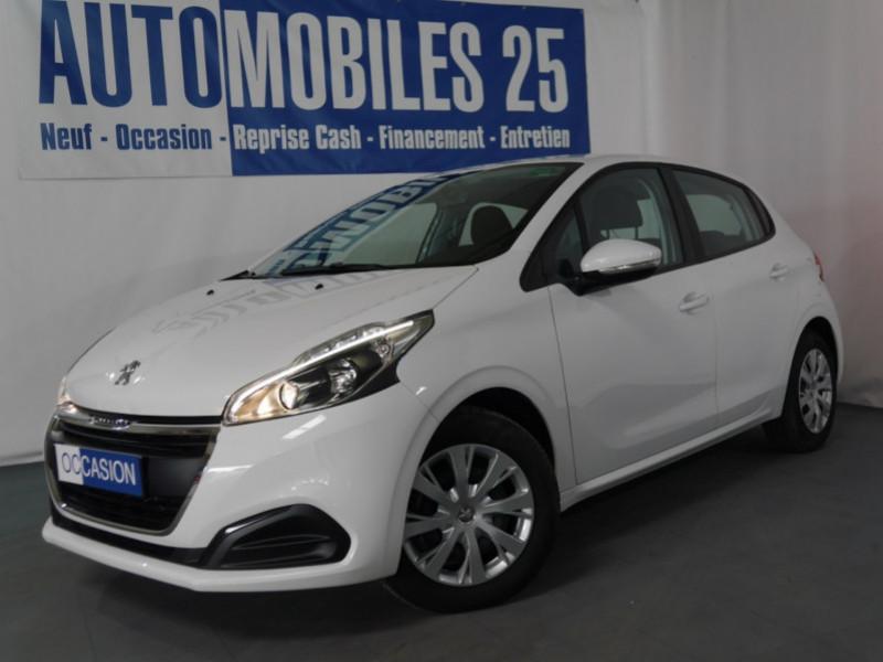 Peugeot 208 1.2 PURETECH 82CH E6.C ACTIVE 5P Essence BLANC BANQUISE Occasion à vendre