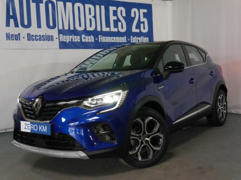 Renault CAPTUR II 1.0 TCE 90CH INTENS - 18 % Essence BLEU IRON/TOIT NOIR Neuf à vendre