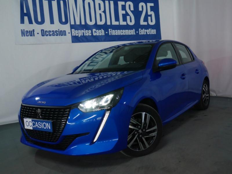 Peugeot 208 1.2 PURETECH 100CH S&S ALLURE EAT8 Essence BLEU VERTIGO Occasion à vendre