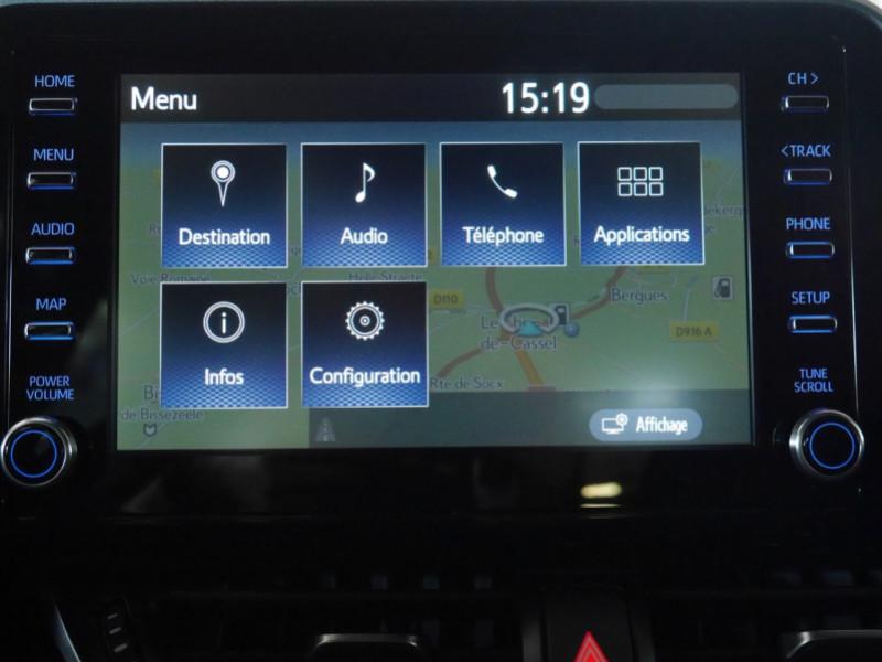 Photo 9 de l'offre de TOYOTA C-HR 184H EDITION 2WD E-CVT MY20 - 25 % à 27495€ chez Automobiles 25