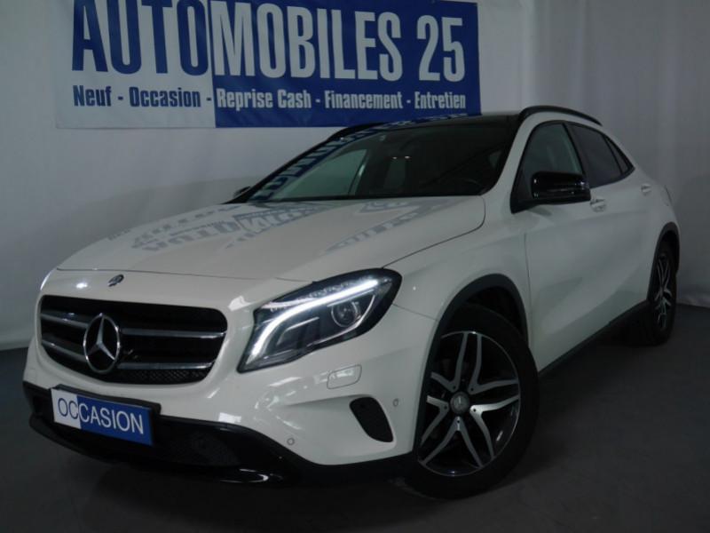 Mercedes-Benz CLASSE GLA (X156) 200 CDI FASCINATION 4MATIC 7G-DCT Diesel BLANC Occasion à vendre