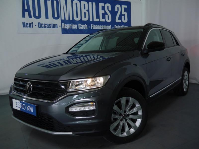 Volkswagen T-ROC 1.5 TSI EVO 150CH LOUNGE DSG7 S&S Essence GRIS INDIUM / TOIT N Neuf à vendre
