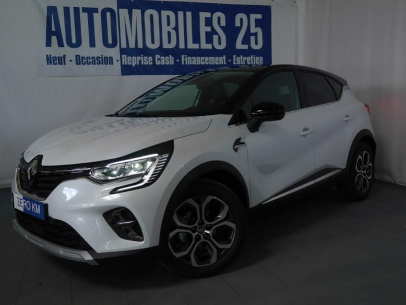Renault CAPTUR II 1.0 TCE 95CH INTENS - 18 % Essence BLANC NACRE/TOIT NOI Neuf à vendre