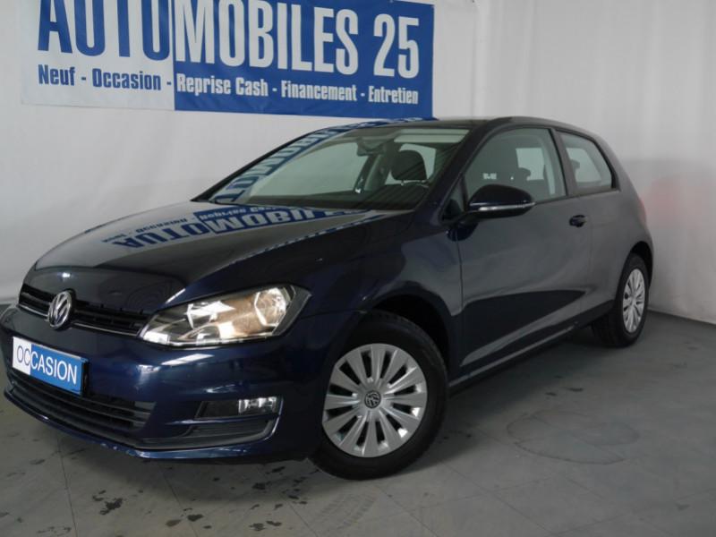 Volkswagen GOLF VII 1.2 TSI 85CH BLUEMOTION TECHNOLOGY TRENDLINE 3P Essence BLEU Occasion à vendre