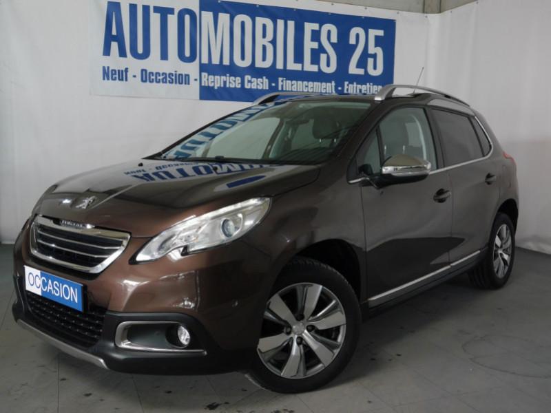 Peugeot 2008 1.6 E-HDI92 FAP ALLURE ETG6 Diesel MARRON Occasion à vendre