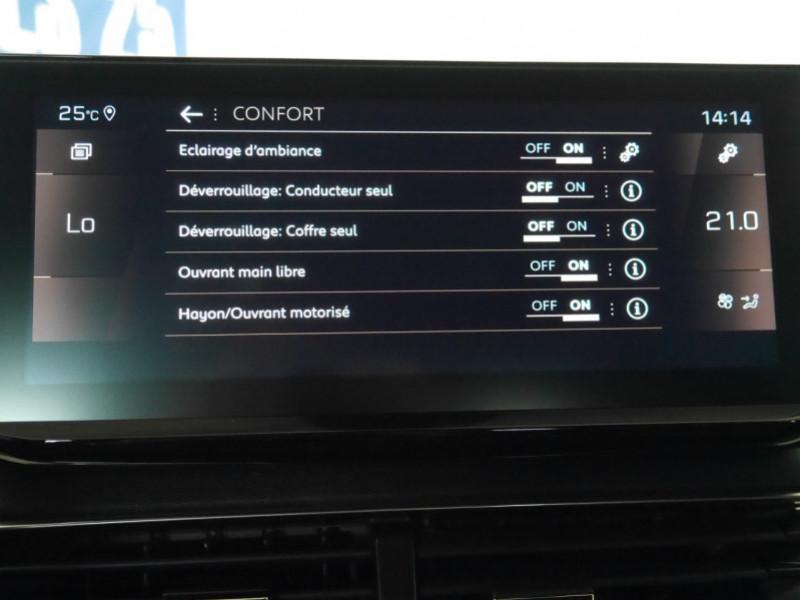 Photo 18 de l'offre de PEUGEOT 5008 2.0 BLUEHDI 180CH S&S GT PACK EAT8 - 9 % à 44995€ chez Automobiles 25