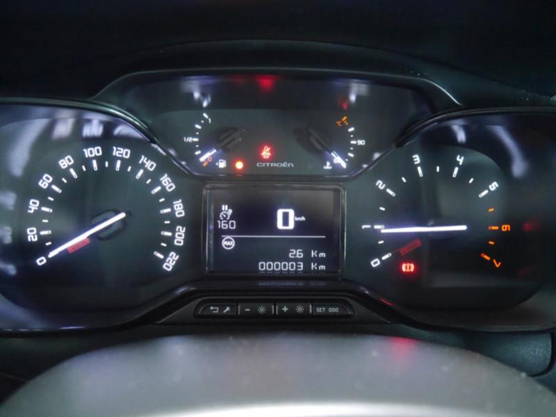 Photo 7 de l'offre de CITROEN C3 1.2 PURETECH 110CH S&S FEEL PACK 124G - 8 % à 18495€ chez Automobiles 25