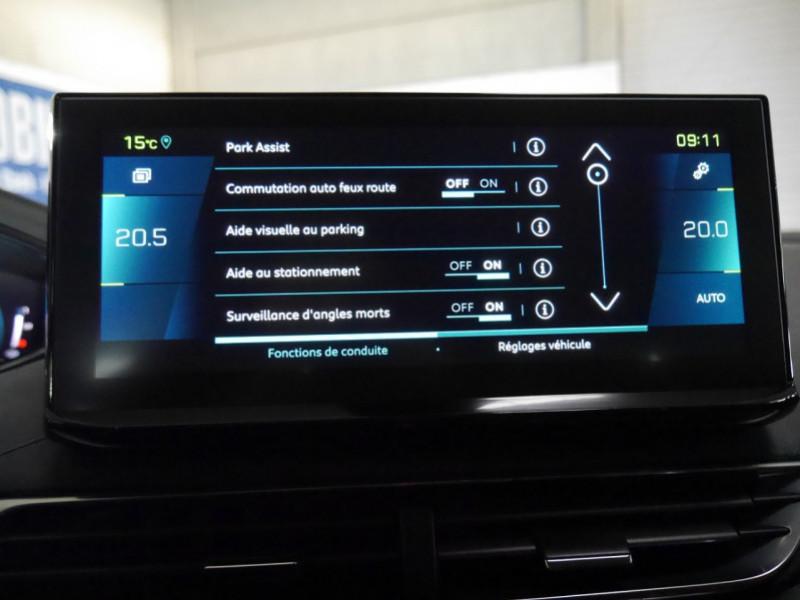 Photo 13 de l'offre de PEUGEOT 3008 HYBRID 225CH ALLURE E-EAT8 10CV -19% à 37995€ chez Automobiles 25