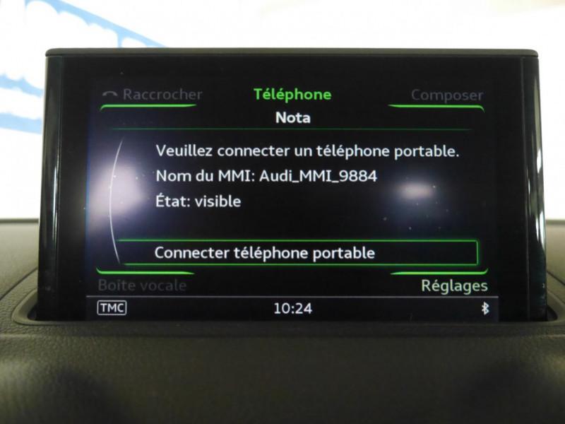 Photo 13 de l'offre de AUDI A3 SPORTBACK 2.0 TDI 150CH FAP AMBITION à 16900€ chez Automobiles 25