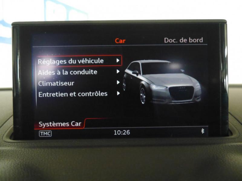 Photo 15 de l'offre de AUDI A3 SPORTBACK 2.0 TDI 150CH FAP AMBITION à 16900€ chez Automobiles 25