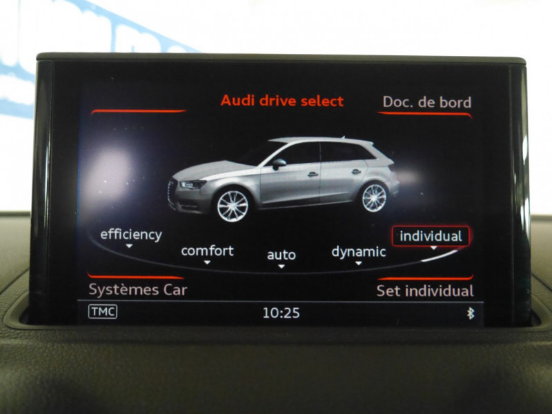 Photo 18 de l'offre de AUDI A3 SPORTBACK 2.0 TDI 150CH FAP AMBITION à 16900€ chez Automobiles 25