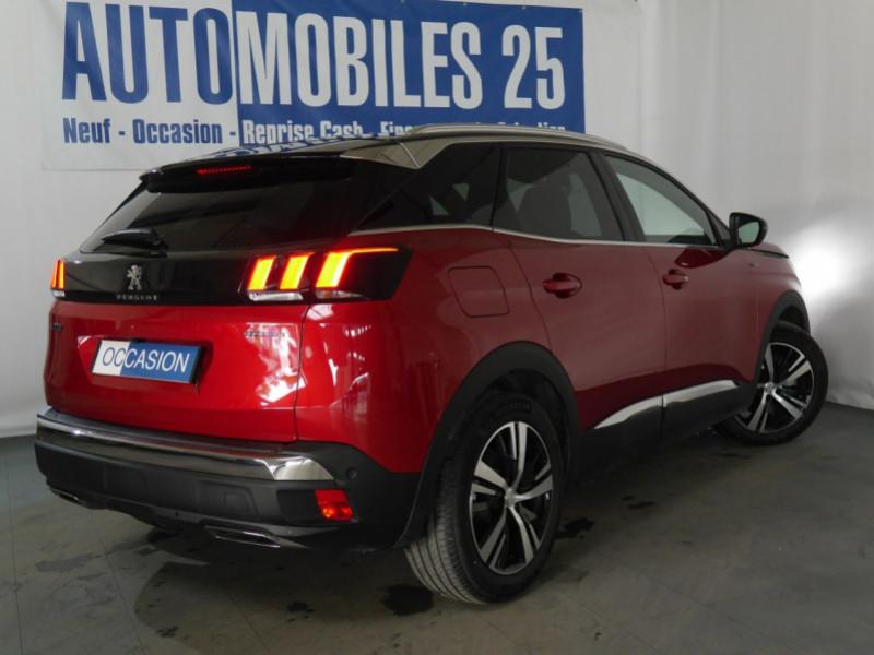 Photo 2 de l'offre de PEUGEOT 3008 HYBRID4 300CH GT E-EAT8 à 41590€ chez Automobiles 25