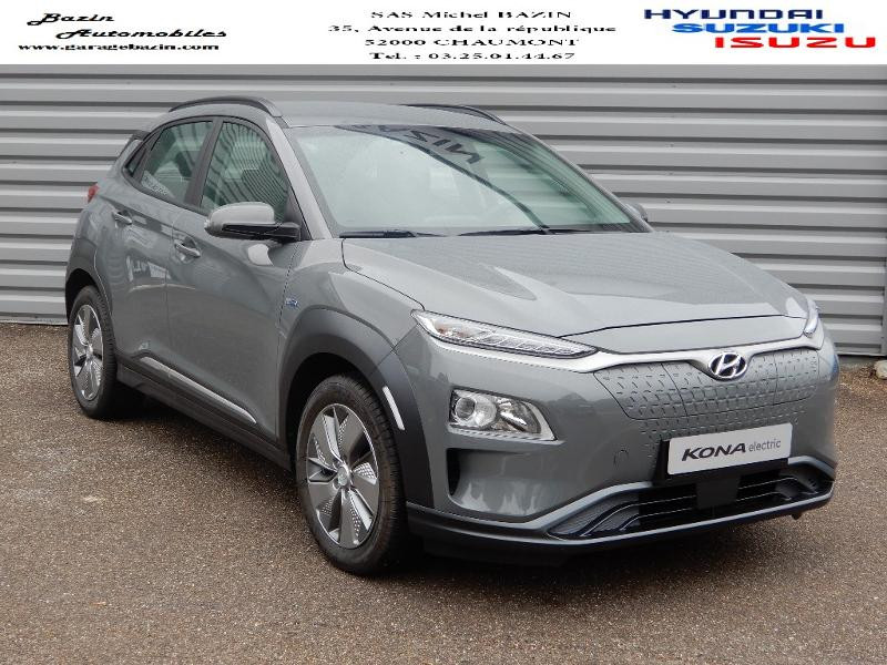 Hyundai Kona Electric 136ch Intuitive Euro6d-T EVAP 2cv Electrique GALACTIC GRAY METAL Occasion à vendre
