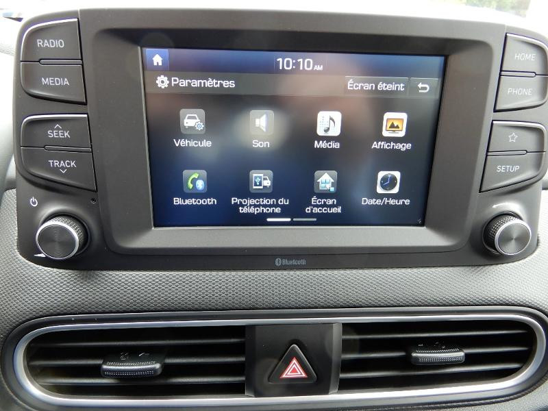 Photo 10 de l'offre de HYUNDAI Kona Electric 136ch Intuitive Euro6d-T EVAP 2cv à 22250€ chez Garage Bazin