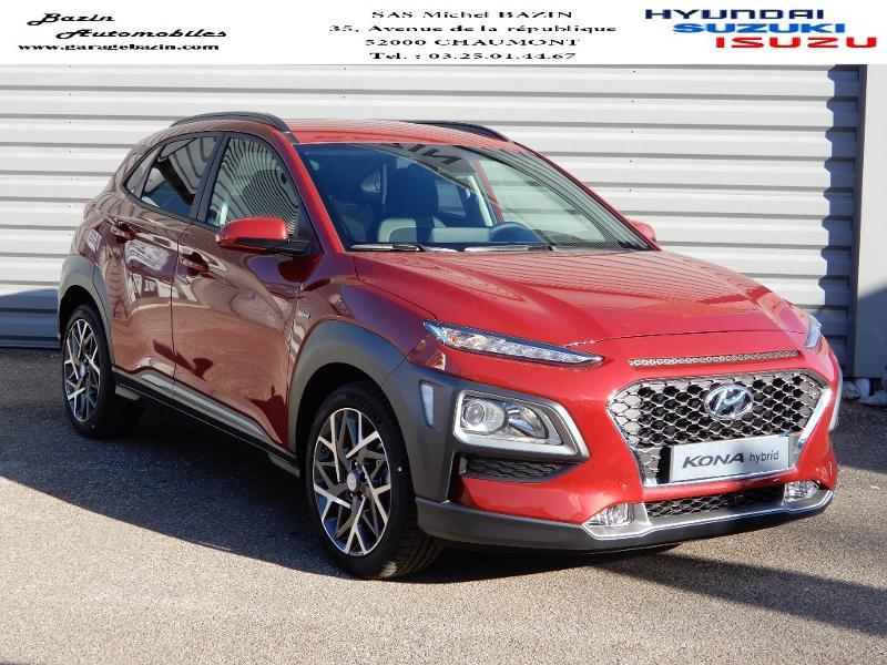 Hyundai Kona 1.6 GDi hybrid 141ch Creative DCT-6 Euro6d-T EVAP Hybride PULSE RED Occasion à vendre