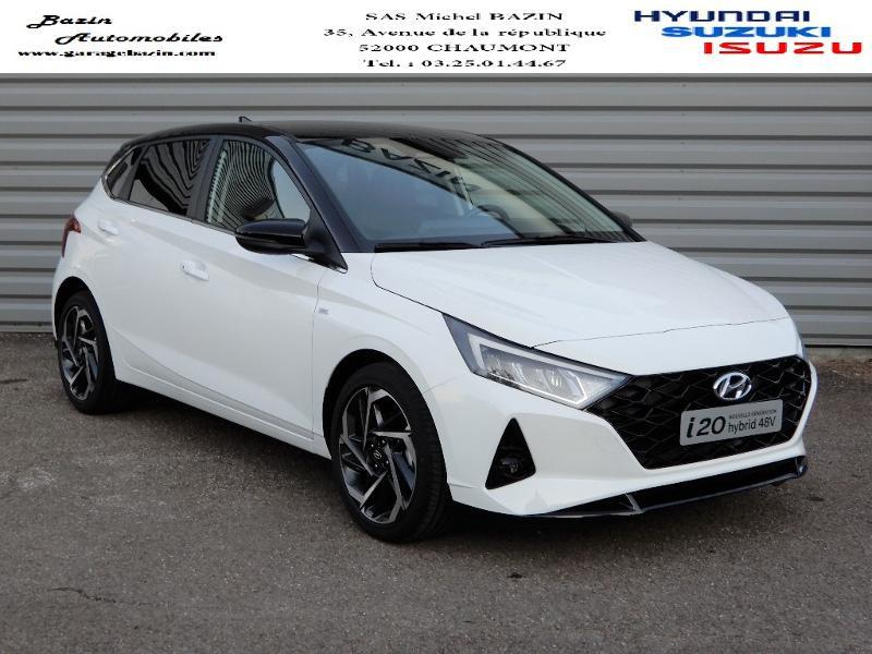 Hyundai i20 1.0 T-GDi 100ch Creative hybrid Essence POLAR WHITE Occasion à vendre