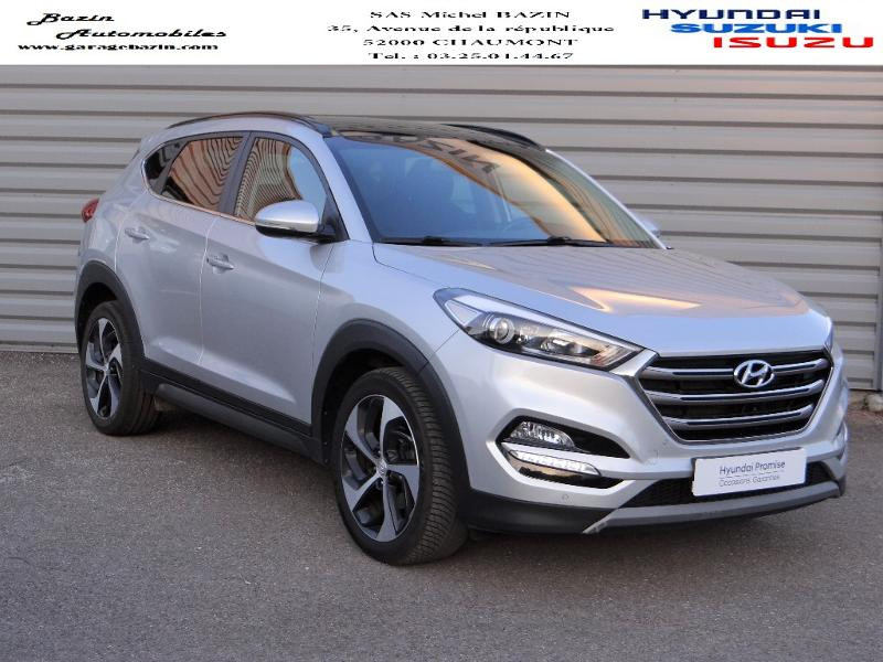 Hyundai Tucson 1.7 CRDI 141ch Creative 2WD DCT-7 Diesel PLATINIUM SILVER Occasion à vendre
