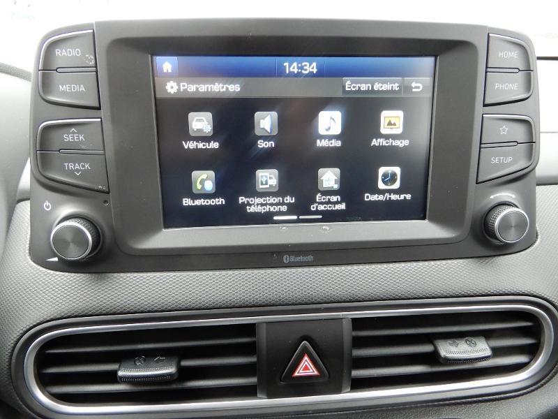 Photo 10 de l'offre de HYUNDAI Kona Electric 136ch Intuitive Euro6d-T EVAP 2cv à 21750€ chez Garage Bazin