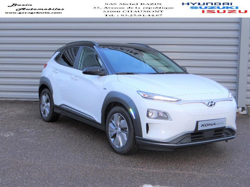 Hyundai Kona Electric 204ch Executive Style Euro6d-T EVAP 3cv Electrique CHALK WHITE Occasion à vendre