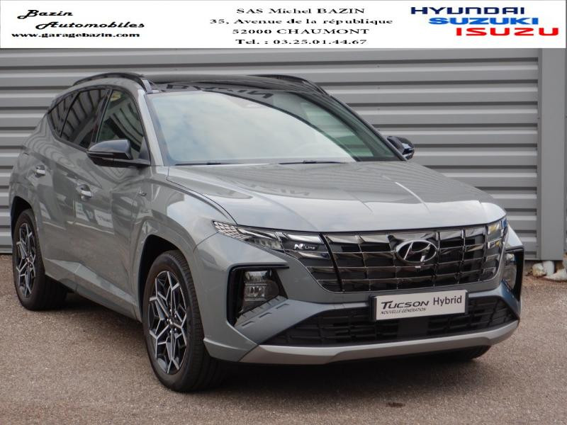 Hyundai Tucson 1.6 T-GDi 265ch PHEV HTRAC N Line Executive BVA6 Hybride SHADOW GREY Occasion à vendre