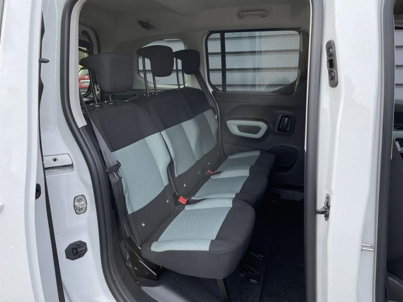 Photo 9 de l'offre de CITROEN BERLINGO M BLUEHDI 100CH S&S FEEL PACK à 22990€ chez BCP Automobiles