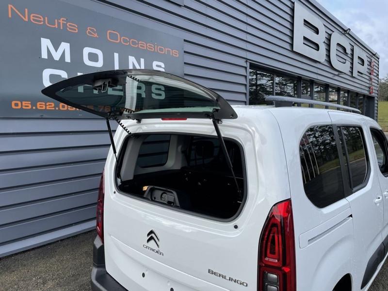 Photo 10 de l'offre de CITROEN BERLINGO M BLUEHDI 100CH S&S FEEL PACK à 22990€ chez BCP Automobiles