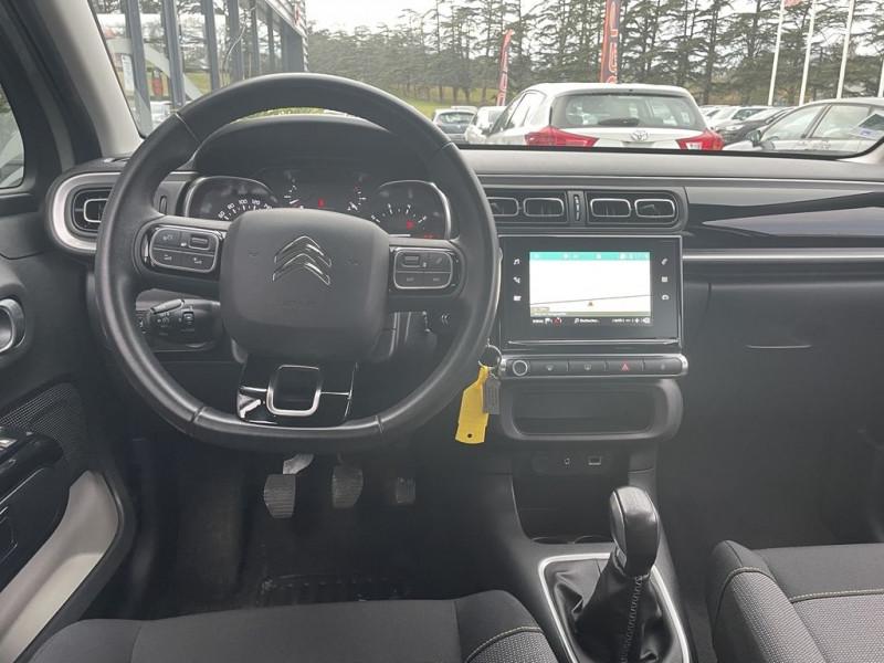 Photo 5 de l'offre de CITROEN C3 PURETECH 110CH SHINE S&S à 13990€ chez BCP Automobiles