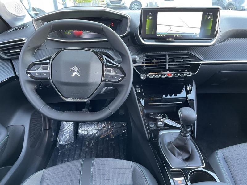 Photo 5 de l'offre de PEUGEOT 208 1.5 BLUEHDI 100CH S&S ALLURE à 22490€ chez BCP Automobiles