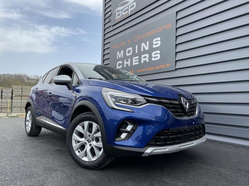 Renault CAPTUR II 1.0 TCE 100CH INTENS - 20 Essence BLEU IRON Occasion à vendre