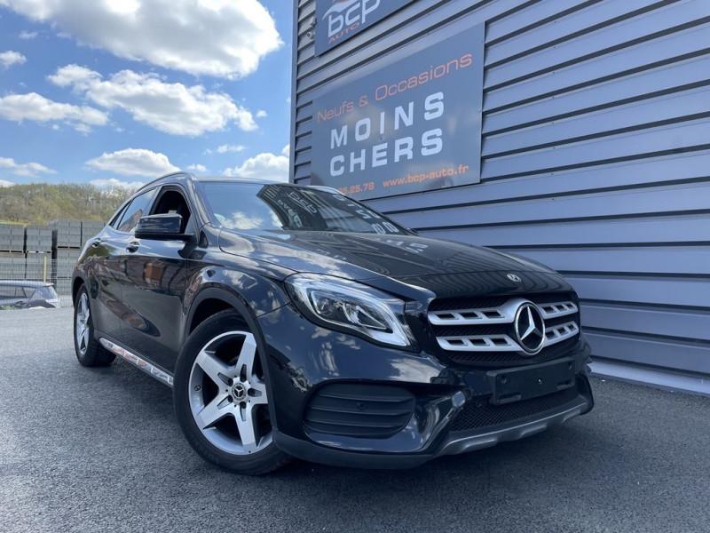 Mercedes-Benz CLASSE GLA (X156) 200 D 136CH FASCINATION 7G-DCT EURO6C Diesel NOIR Occasion à vendre