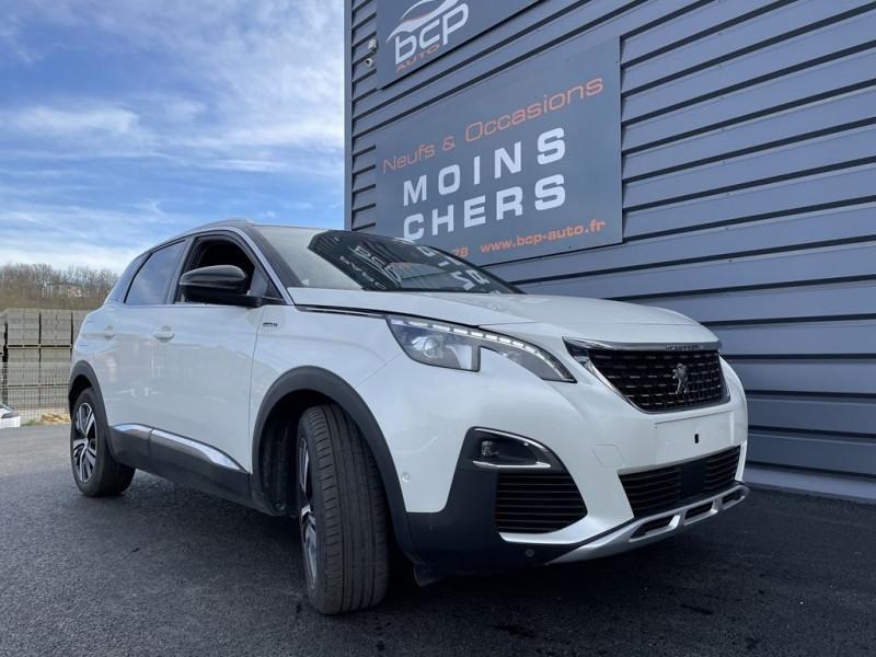 Peugeot 3008 1.5 BLUEHDI 130CH E6.C GT LINE S&S Diesel BLANC NACRE Occasion à vendre