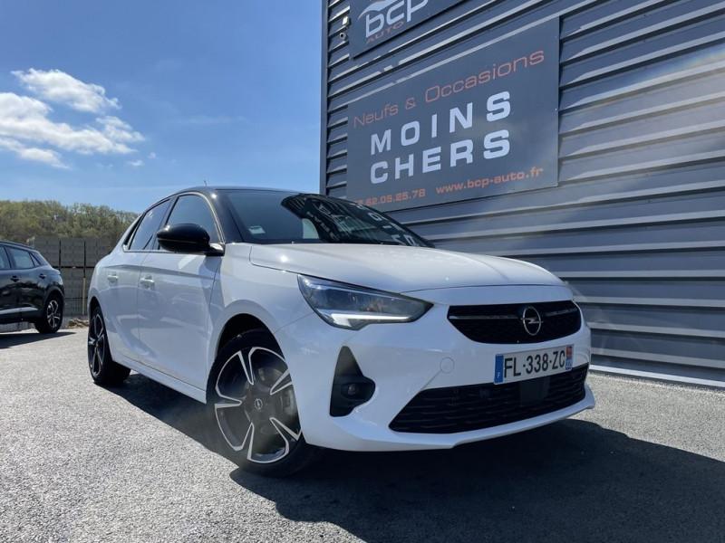 Opel CORSA 1.2 TURBO 130CH GS LINE BVA Essence BLANC Occasion à vendre