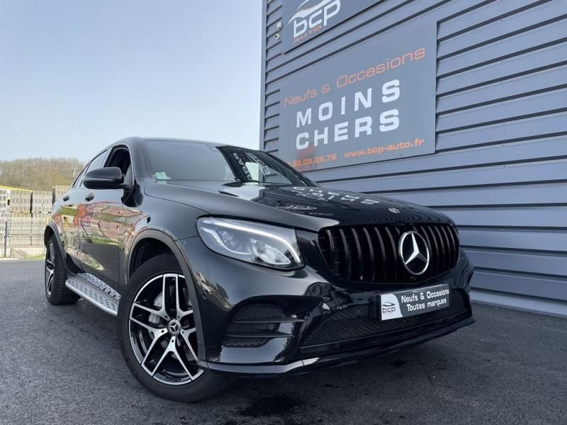 Mercedes-Benz GLC COUPE 250 D 204CH FASCINATION 4MATIC 9G-TRONIC EURO6C Diesel NOIR Occasion à vendre