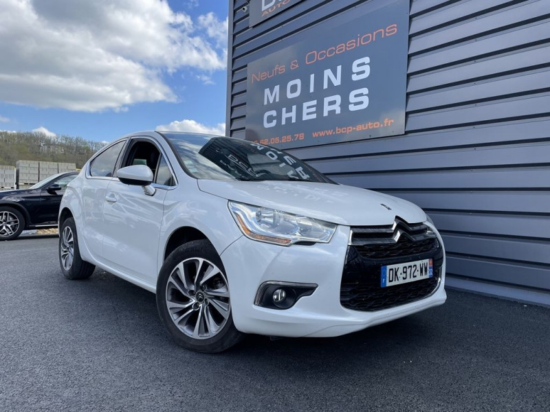 Citroen DS4 1.6 E-HDI115 AIRDREAM SO CHIC Diesel BLANC NACRE Occasion à vendre