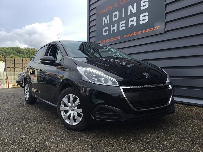 Peugeot 208 1.6 BLUEHDI 100CH ACTIVE 5P Diesel NOIR PERLA Occasion à vendre