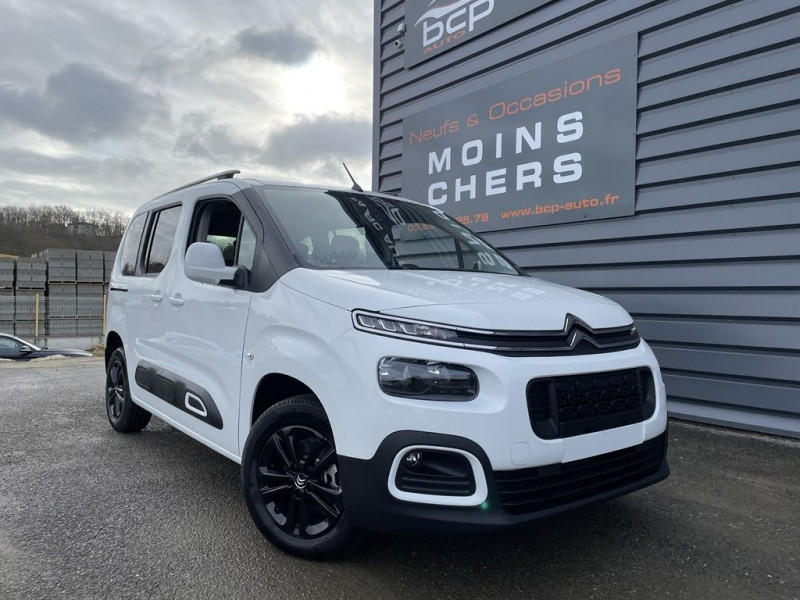 Citroen BERLINGO M BLUEHDI 100CH S&S FEEL PACK Diesel BLANC Occasion à vendre