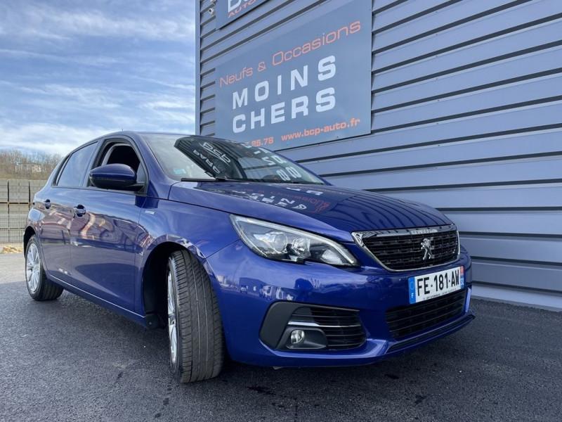 Peugeot 308 1.2 PURETECH 130CH €6.C S&S STYLE Essence BLEU Occasion à vendre