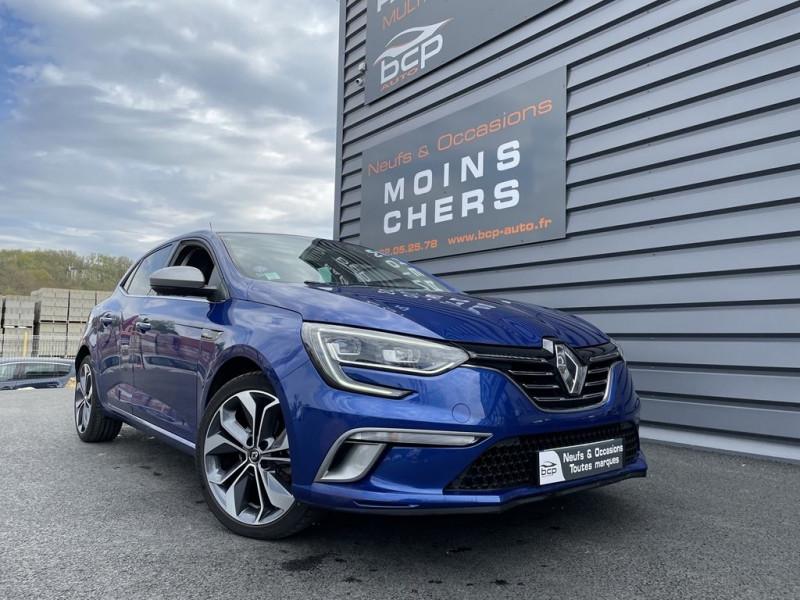 Renault MEGANE IV 1.2 TCE 130CH ENERGY INTENS Essence BLEU IRON Occasion à vendre