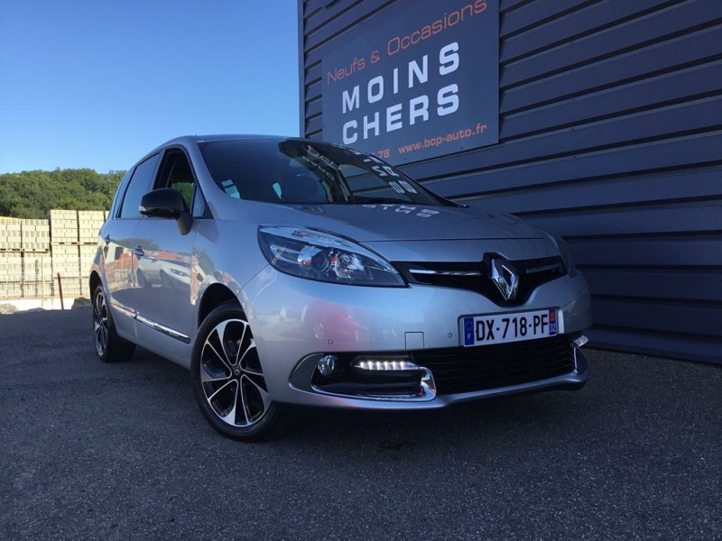 Renault SCENIC III 1.5 DCI 110CH BOSE EDC EURO6 2015 Diesel GRIS CLAIR Occasion à vendre