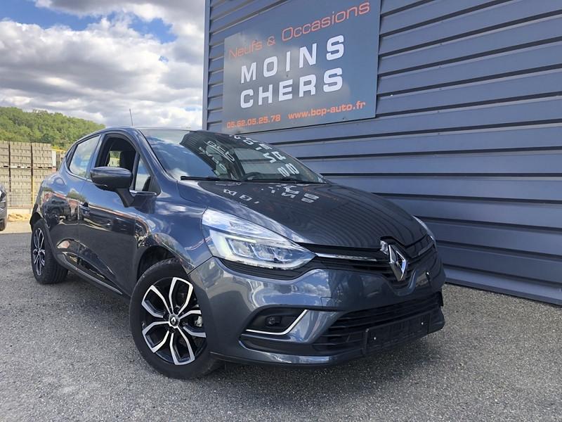 Renault CLIO IV 0.9 TCE 90CH ENERGY INTENS 5P EURO6C Essence GRIS TITANIUM Occasion à vendre