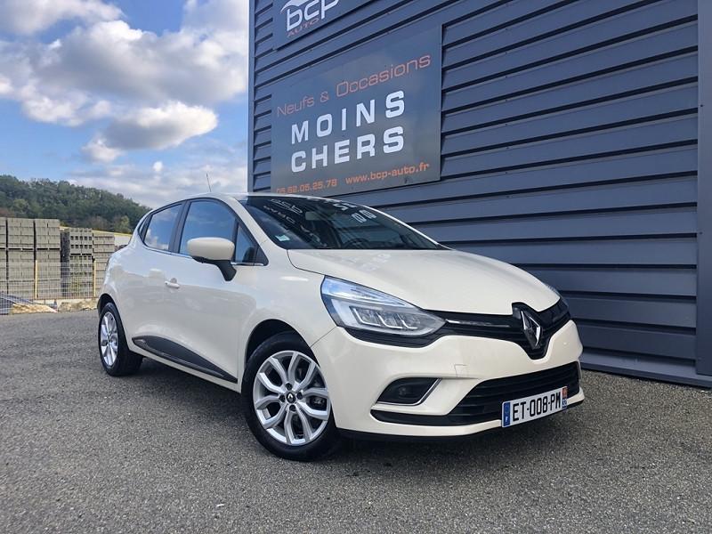 Renault CLIO IV 0.9 TCE 90CH ENERGY INTENS 5P Essence IVOIRE Occasion à vendre