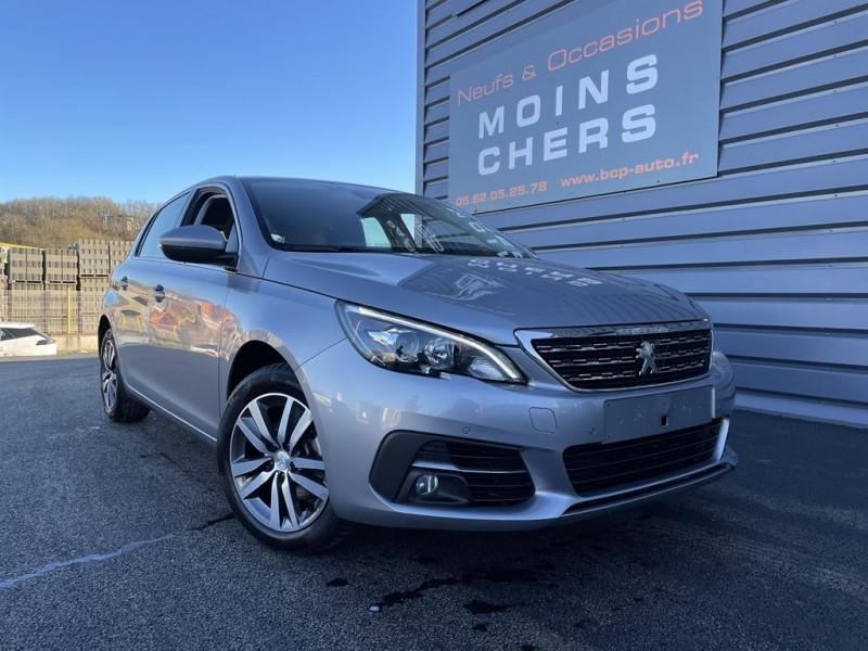 Peugeot 308 1.5 BLUEHDI 130CH S&S ALLURE Diesel GRIS ARTENSE Occasion à vendre