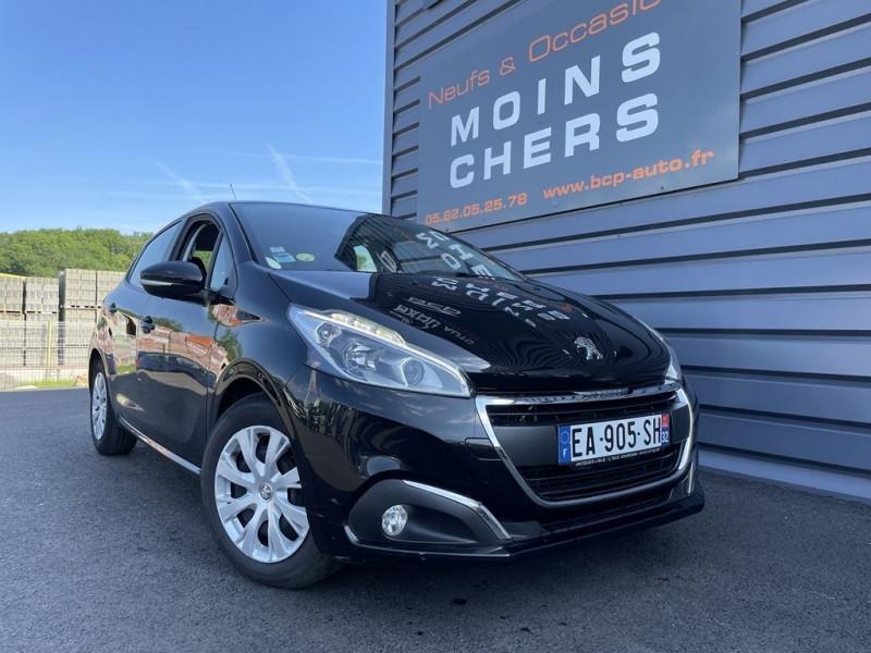 Peugeot 208 1.6 BLUEHDI 100CH ACTIVE BUSINESS S&S 5P Diesel NOIR Occasion à vendre