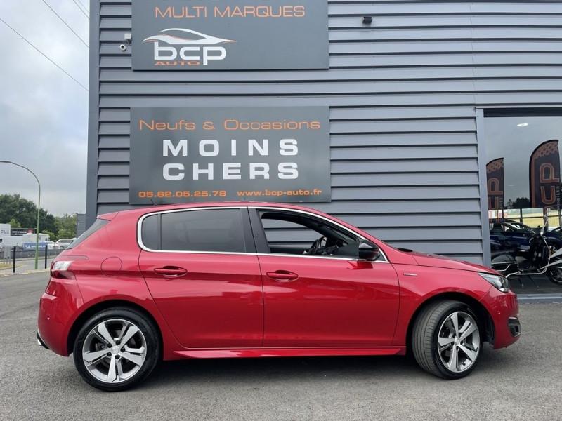 Photo 2 de l'offre de PEUGEOT 308 1.6 BLUEHDI 120CH GT LINE S&S 5P à 15490€ chez BCP Automobiles