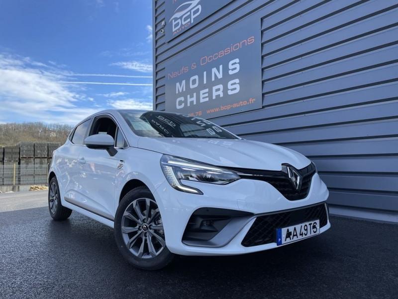 Renault CLIO V 1.0 TCE 100CH RS LINE - 20 Essence BLANC Occasion à vendre